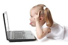 laptop child