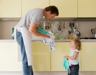 Cleaning and tidying with kids