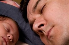 Cosleeping and dads