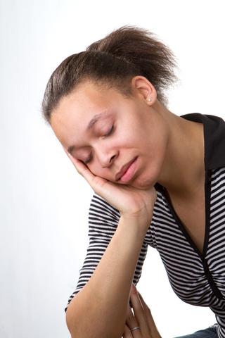 sleepy fatigue tired exhausted