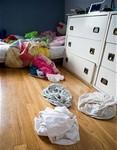 Clean kid's rooms