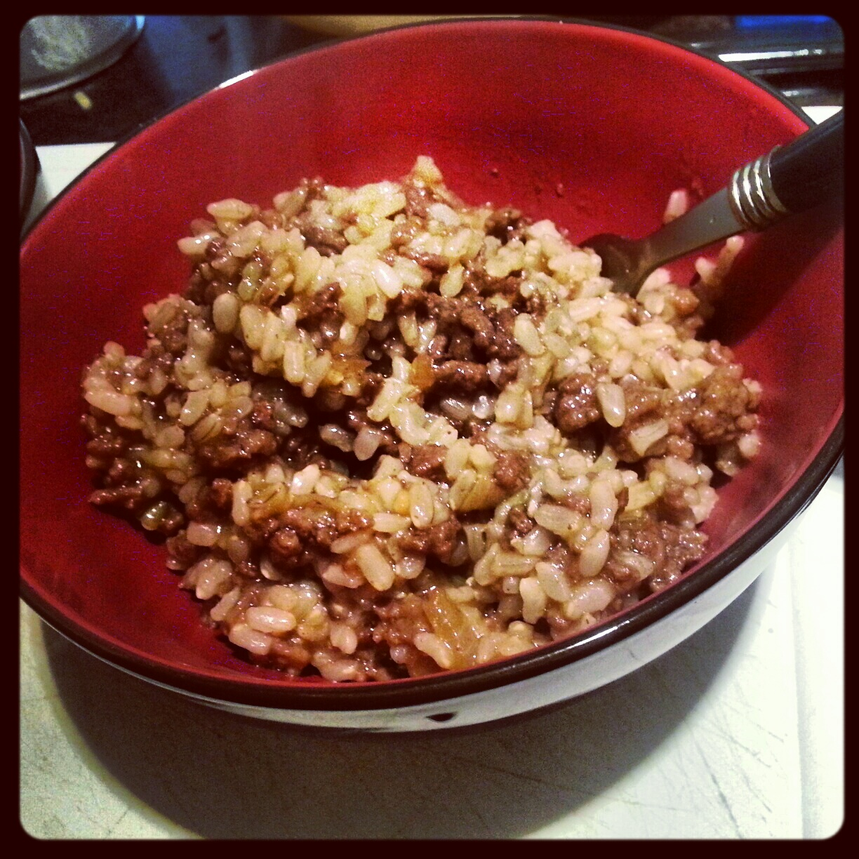 mince_and_brown_rice