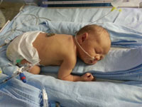 Luhan Smit was born at 34 weeks at the Wilgeheuwel Life Hospital in Johannesburg.