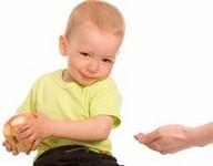 Selfish kids and selflessness