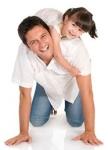 Single father raising a girl